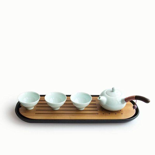 Ceramic Tea Trays Kitchen cb5feb1b7314637725a2e7: One Color